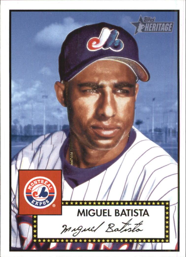 Autographs-original Miguel Batista New York Mets Signed Autographed Official Onl Baseball Cas Sports Mem, Cards & Fan Shop