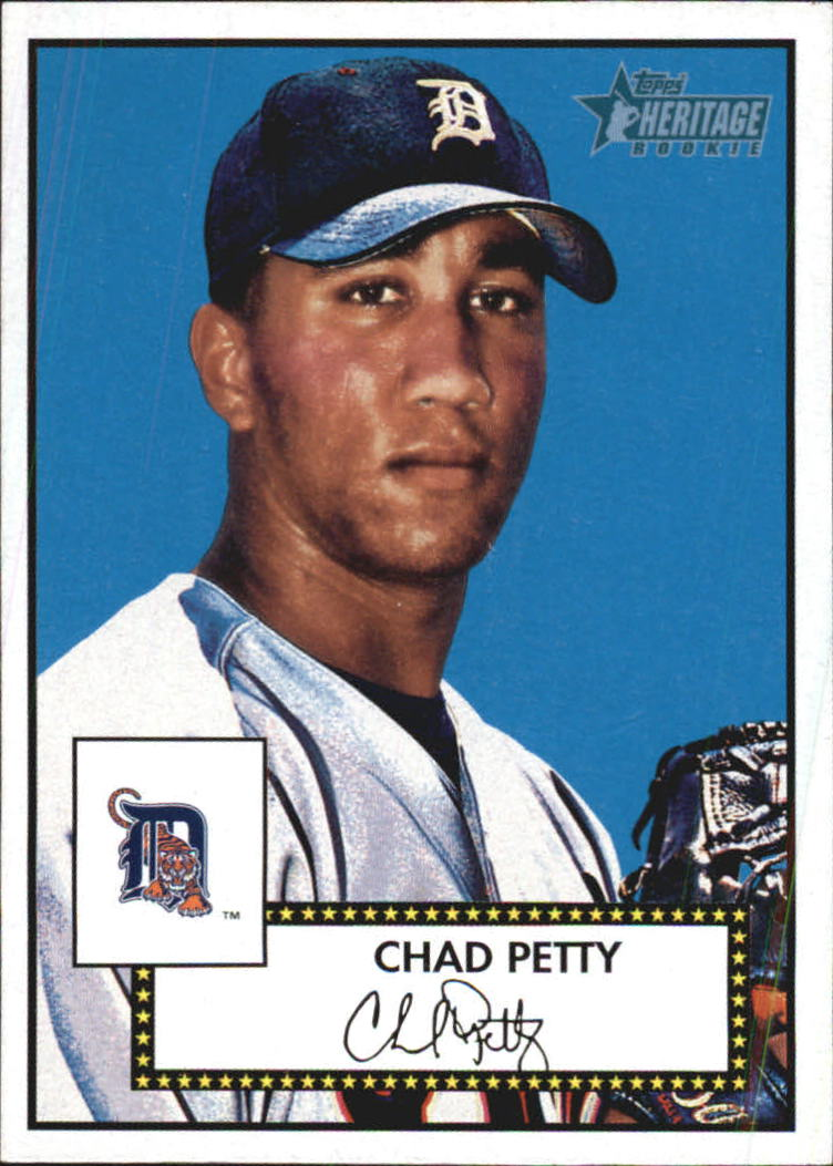 2001 Topps Heritage #297 Chad Petty RC