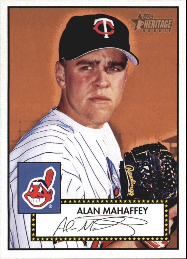 2001 Topps Heritage #306 Alan Mahaffey RC