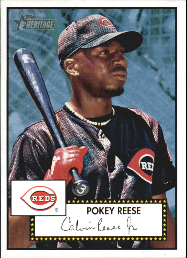2001 Topps Heritage #308 Pokey Reese