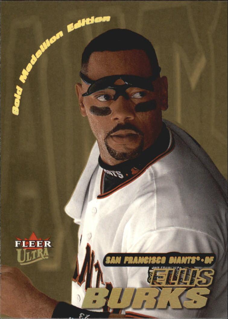 2001 Ultra Gold Medallion #13 Ellis Burks