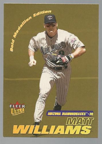 2001 Ultra Gold Medallion #27 Matt Williams