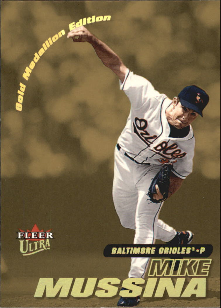 2001 Ultra Gold Medallion #33 Mike Mussina