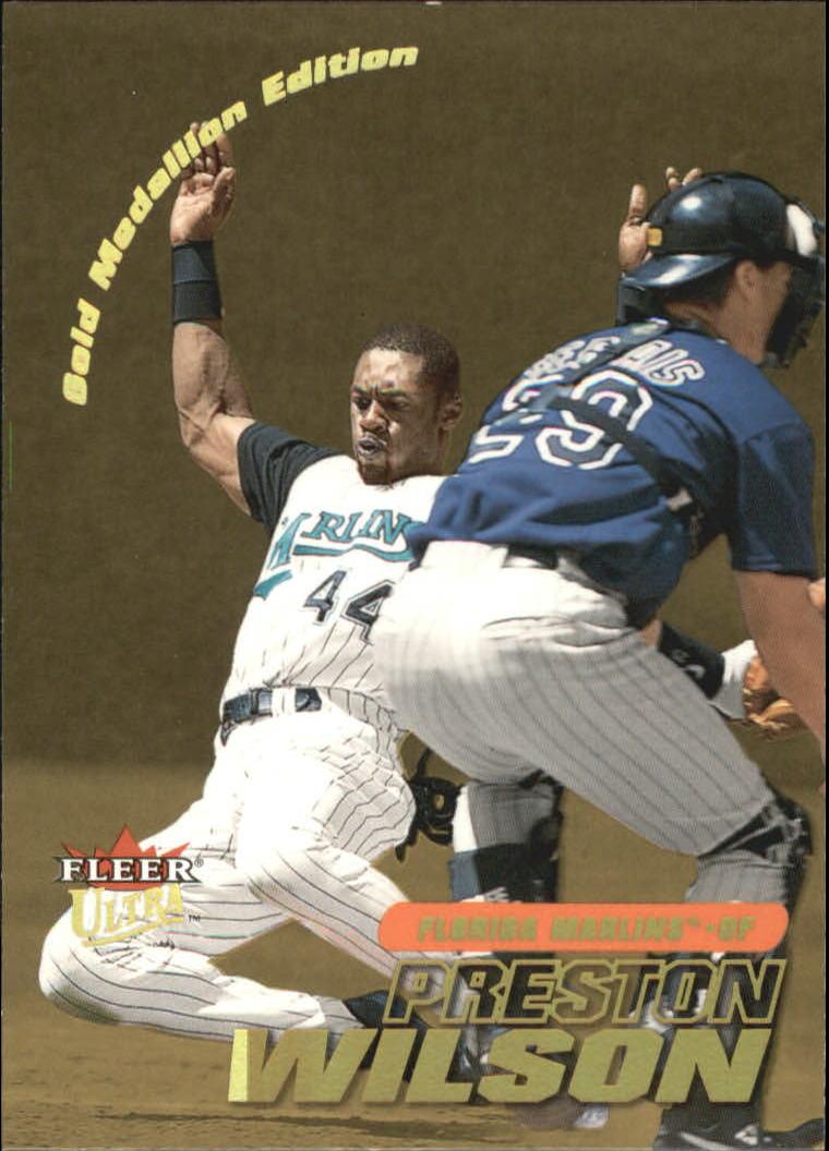 2001 Ultra Gold Medallion #58 Preston Wilson