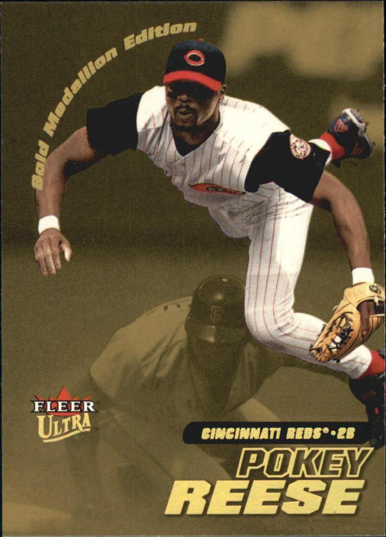 2001 Ultra Gold Medallion #116 Pokey Reese