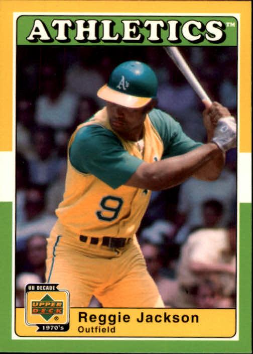 2001 Upper Deck Decade 1970's #4 Reggie Jackson