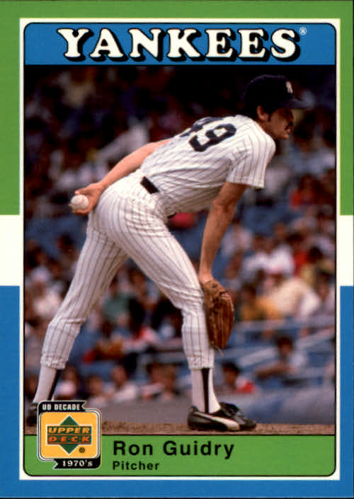 2001 Upper Deck Decade 1970's #38 Ron Guidry