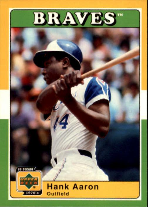 2001 Upper Deck Decade 1970's #46 Hank Aaron