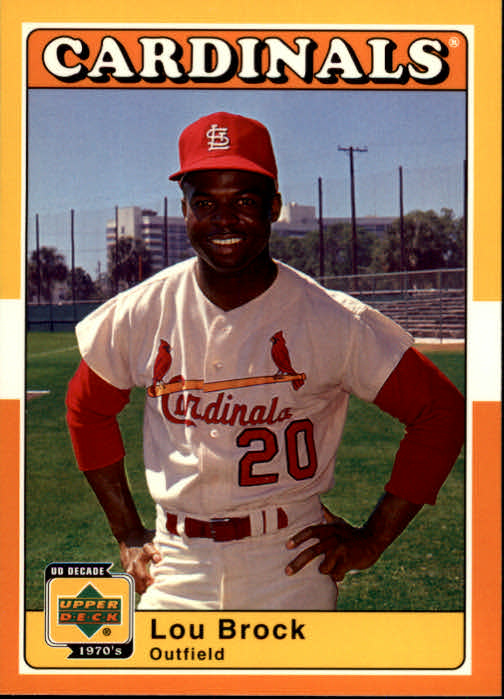 2001 Upper Deck Decade 1970's #55 Lou Brock
