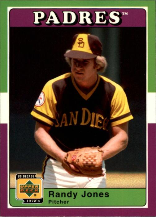 2001 Upper Deck Decade 1970's #78 Randy Jones