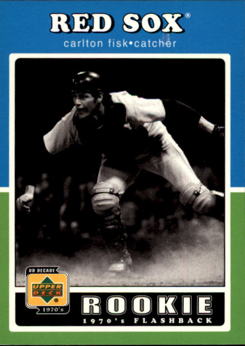 2001 Upper Deck Decade 1970's #91 Carlton Fisk RF