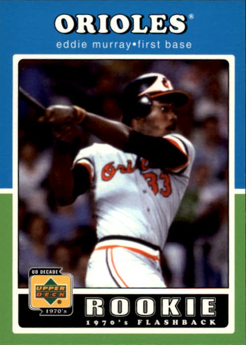 2001 Upper Deck Decade 1970's #94 Eddie Murray RF