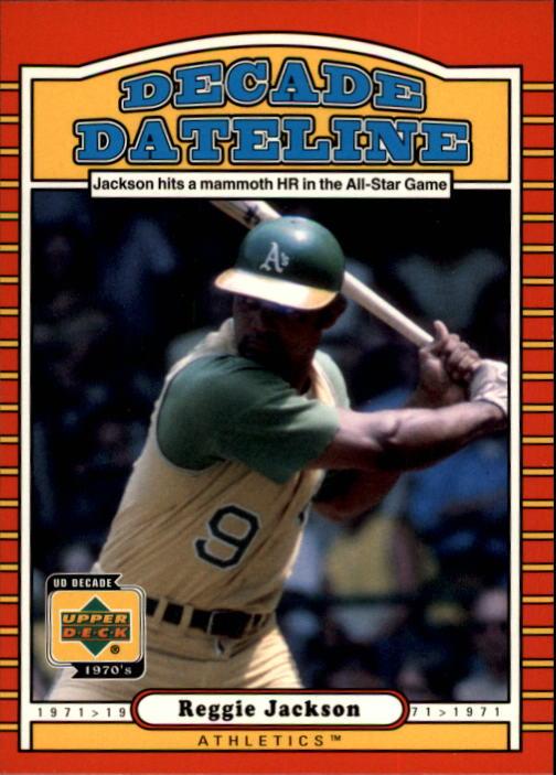 2001 Upper Deck Decade 1970's #113 Reggie Jackson DD