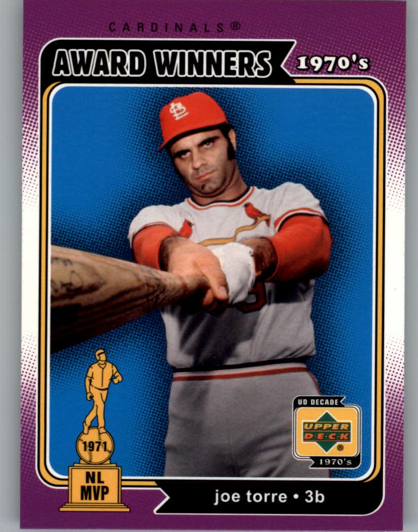 2001 Upper Deck Decade 1970's #144 Joe Torre AW