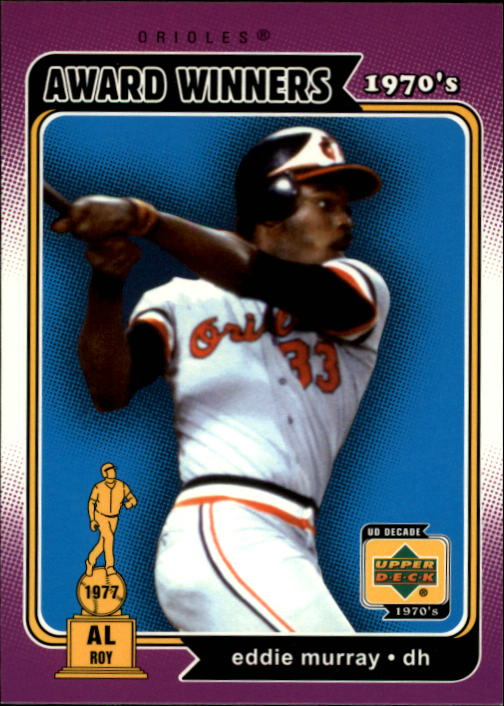 2001 Upper Deck Decade 1970's #163 Eddie Murray AW
