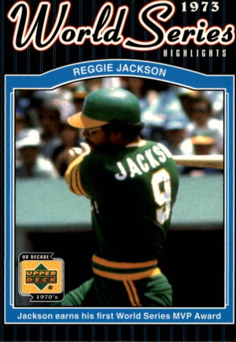 2001 Upper Deck Decade 1970's #174 Reggie Jackson WS