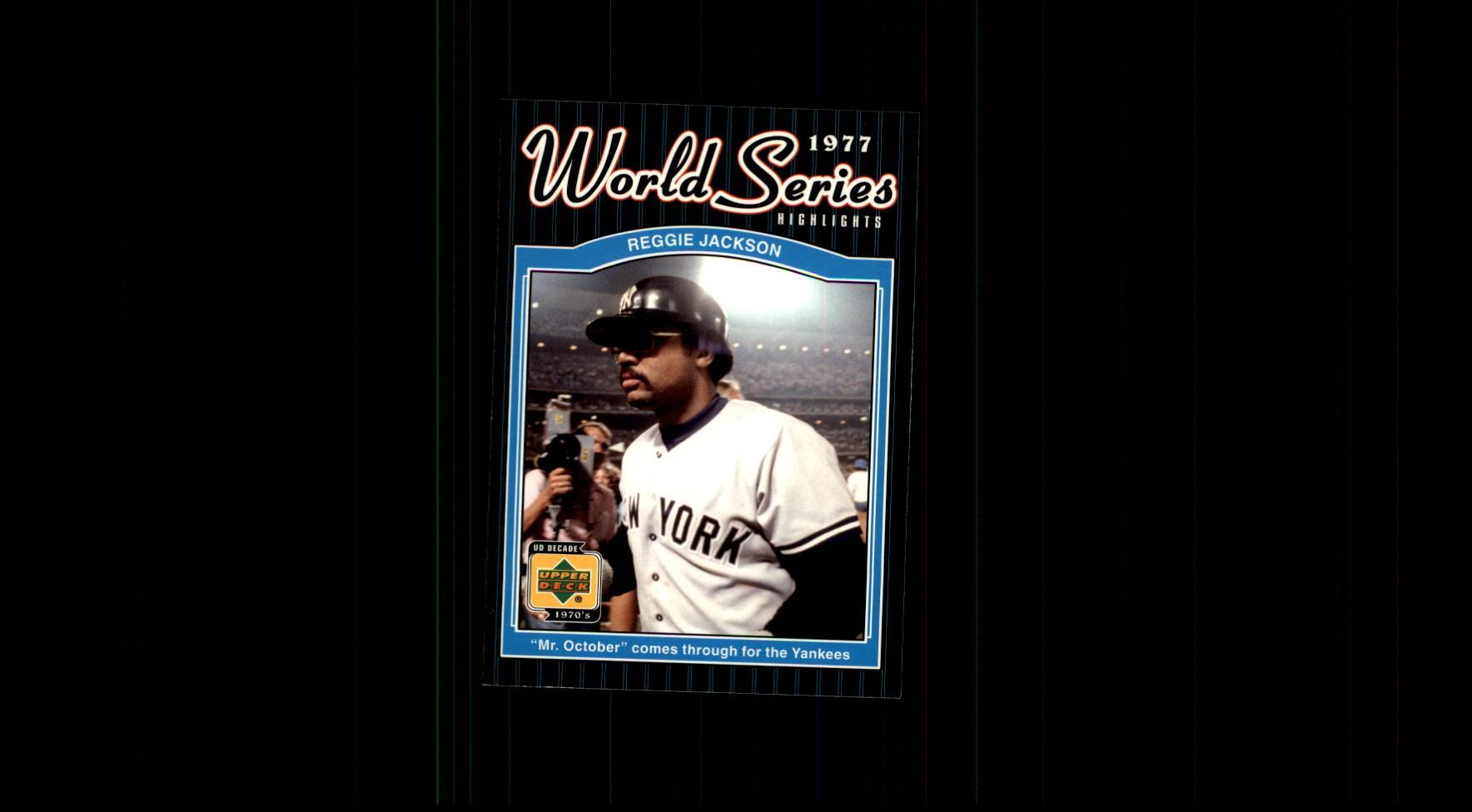 2001 Upper Deck Decade 1970's #178 Reggie Jackson WS