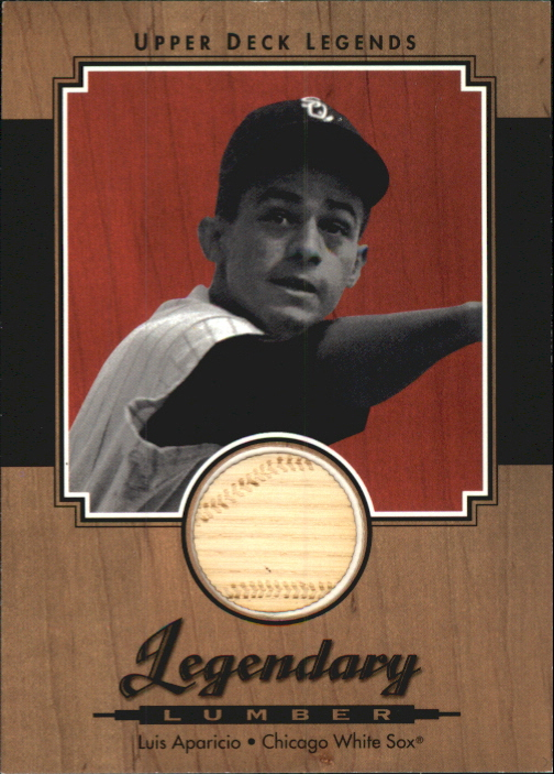2001 Upper Deck Legends Legendary Lumber #LLA Luis Aparicio