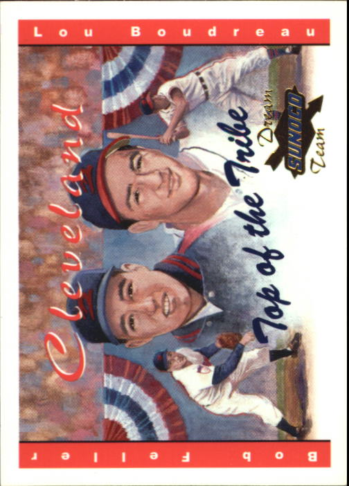 2001 Sunoco Dream Team #11 L.Boudreau/B.Feller