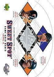 2001 Sweet Spot Game Base Trios #BHK Barry Bonds/Todd Helton/Jeff Kent
