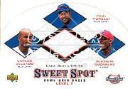 2001 Sweet Spot Game Base Trios #GDM V. Guerrero/Carlos Delgado/Raul Mondesi