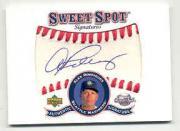 2001 Sweet Spot Signatures #SAR Alex Rodriguez SP/154