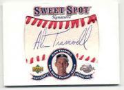 2001 Sweet Spot Signatures #SAT Alan Trammell
