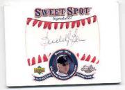 2001 Sweet Spot Signatures #SBB Buddy Bell