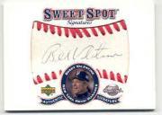 2001 Sweet Spot Signatures #SBV Bobby Valentine