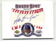 2001 Sweet Spot Signatures #SDB Don Baylor
