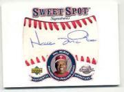 2001 Sweet Spot Signatures #SHM Hal McRae