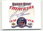 2001 Sweet Spot Signatures #SJC Jose Canseco