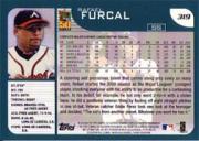 2001 Topps #319 Rafael Furcal back image