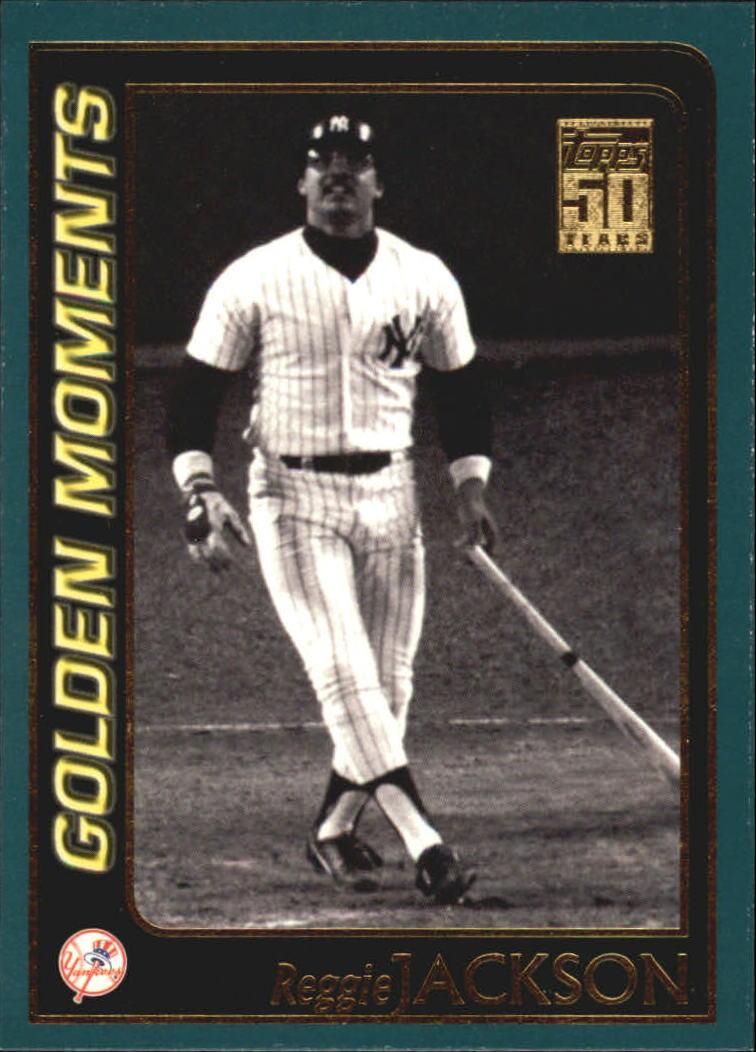 2001 Topps #381 Reggie Jackson GM