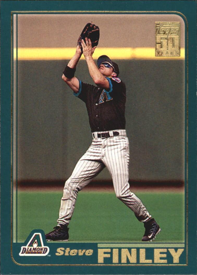 2001 Topps #511 Steve Finley