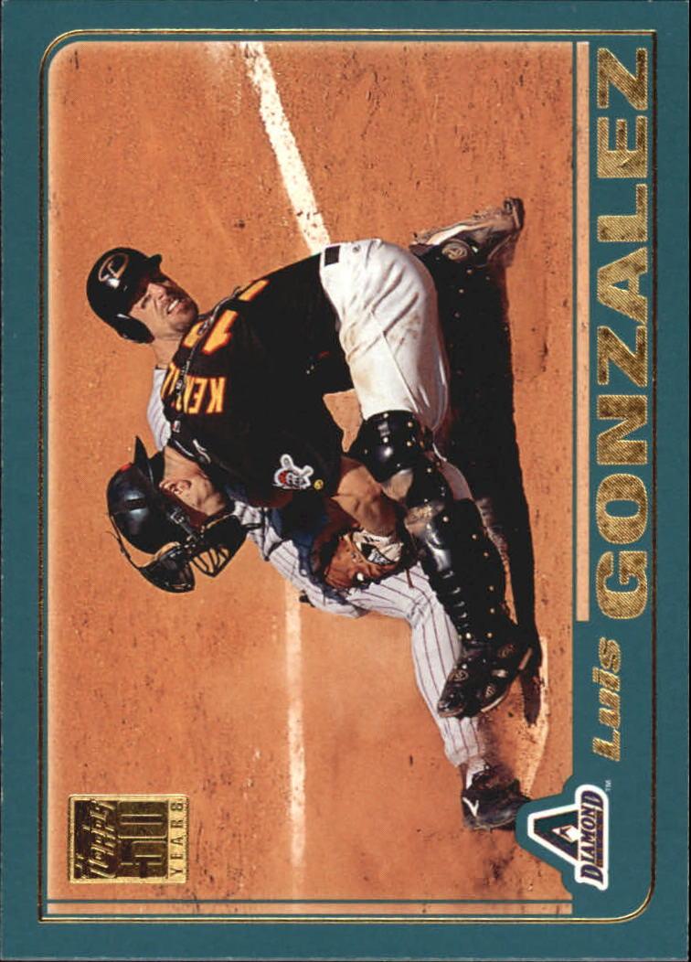 2001 Topps #674 Luis Gonzalez
