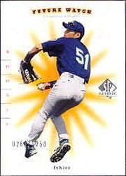 2001 SP Authentic #91 Ichiro Suzuki FW RC