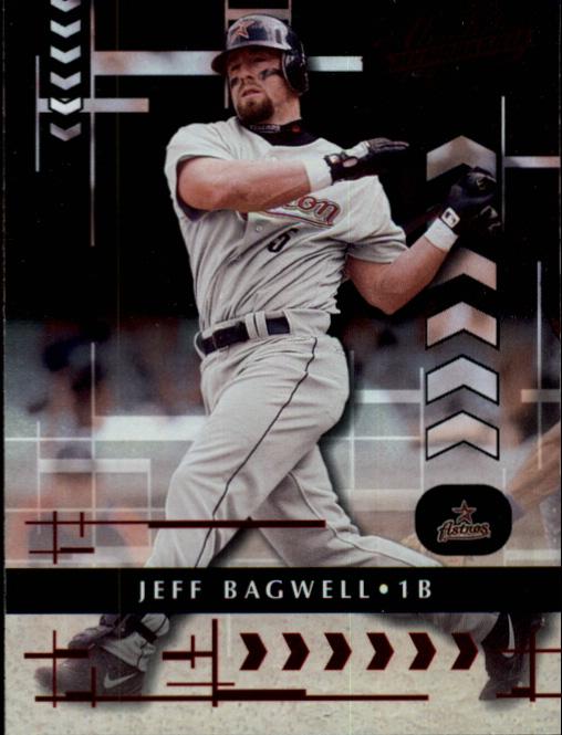 2001 Absolute Memorabilia #10 Jeff Bagwell