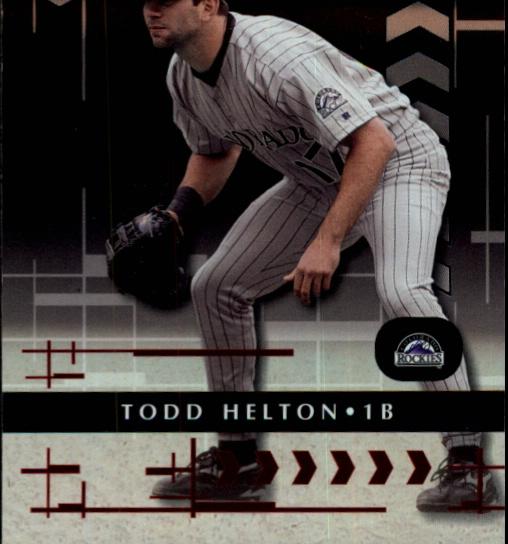2001 Absolute Memorabilia #12 Todd Helton