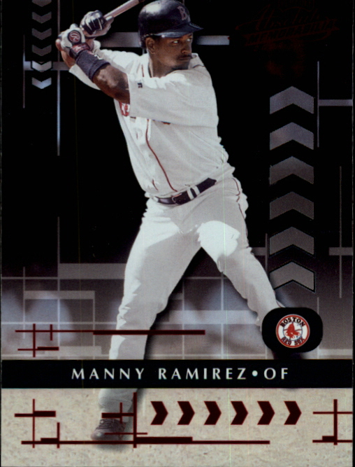 2001 Absolute Memorabilia #14 Manny Ramirez Sox