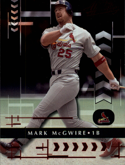2001 Absolute Memorabilia #15 Mark McGwire