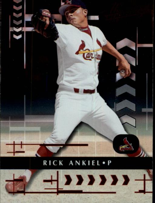 2001 Absolute Memorabilia #20 Rick Ankiel