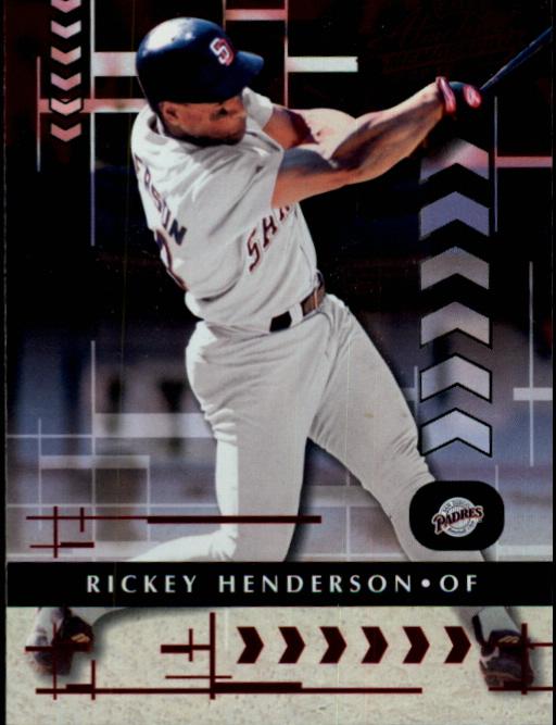 2001 Absolute Memorabilia #21 Rickey Henderson