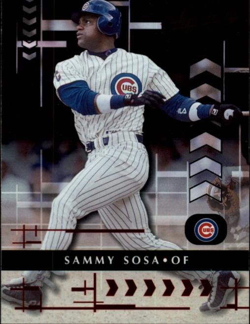 2001 Absolute Memorabilia #23 Sammy Sosa