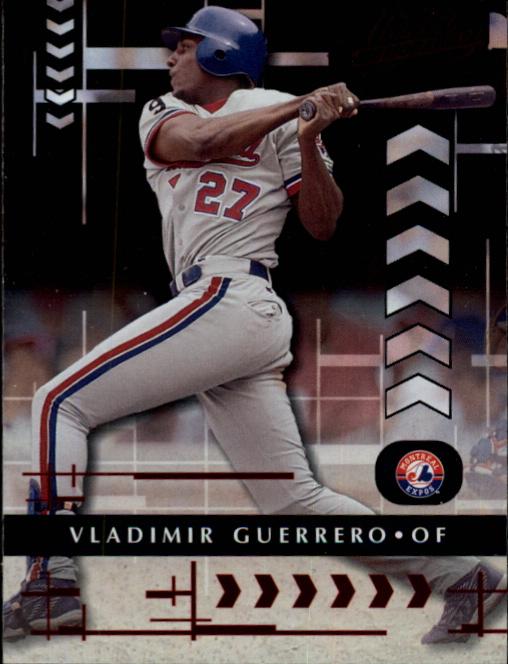 2001 Absolute Memorabilia #25 Vladimir Guerrero