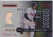 2001 Absolute Memorabilia #152 Cory Aldridge RPM RC