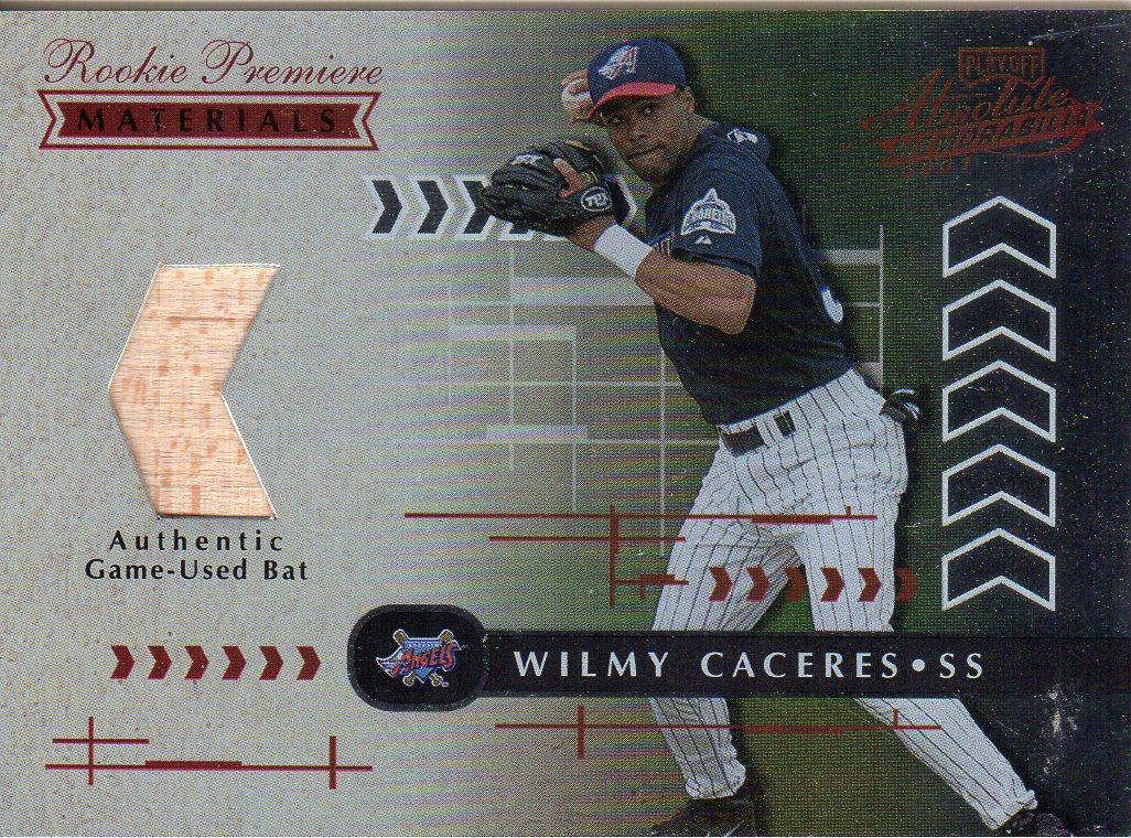 2001 Absolute Memorabilia #153 Wilmy Caceres RPM RC