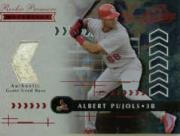 2001 Absolute Memorabilia #157 Albert Pujols RPM RC
