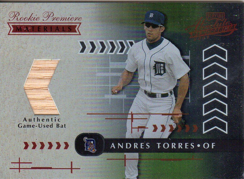 2001 Absolute Memorabilia #158 Andres Torres RPM RC