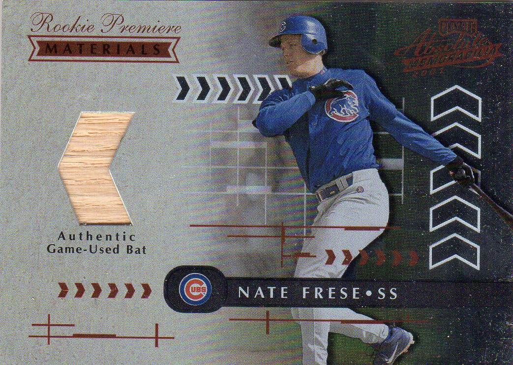 2001 Absolute Memorabilia #163 Nate Frese RPM RC